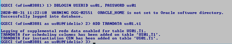 Machine generated alternative text: GGSCI